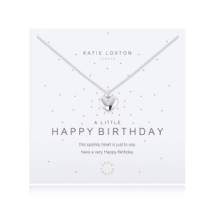 A Little Happy Birthday Necklace KLJ1092