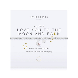 A Little Love You To The Moon And Back Bracelet KLJ2521