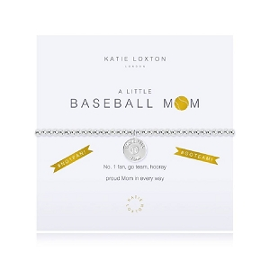 A Little Baseball Mom Bracelet KLS3133