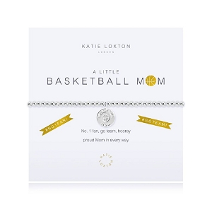 A Little Basketball Mom Bracelet KLS3134