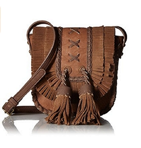 STEVEN by Steve Madden Korina Brown Cross Body Handbag