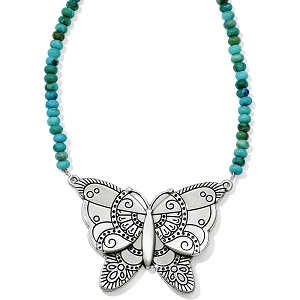 Marrakesh Oasis Butterfly Necklace JL8433