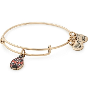 Ladybug Bangle Rafaelian Gold Finish