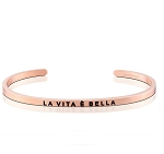 La Vita E Bella Rose Gold