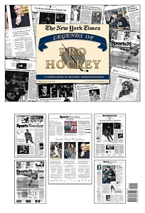 Legends of the NHL New York Times Newspaper Compilation