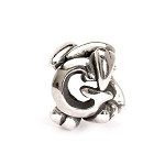 Letter Bead G Silver