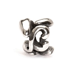 Letter Bead L Silver