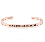Let Your Light Shine Rose Gold