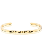 Live What You Love Gold