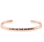 Live In The Moment Rose Gold