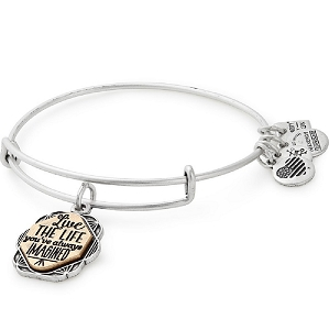 Live the Life You Always Imagined Bangle Rafaelian Silver