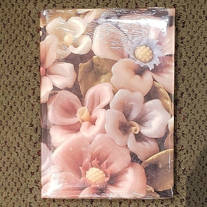 Lladro Flowers Floral Telephone Address Book