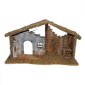 Nativity Stable Large 30 inches Long