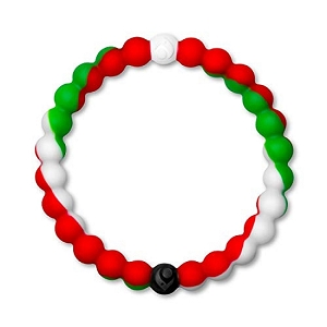 Lokai Red White Green Extra Large