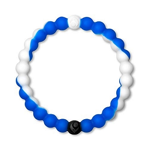 Lokai White and Blue Small