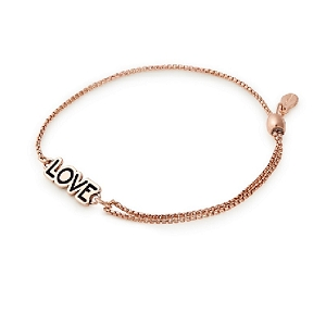 Love Pull Chain Bracelet Rose Gold