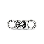 Lovers Bond Double Silver Link