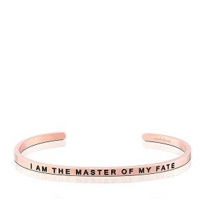 I Am the Master of My Fate, I Am the Captain of My Soul Rose Gold