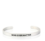 Mens Mind Over Matter Silver