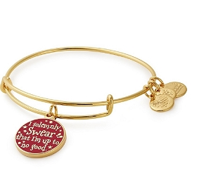Harry Potter Mischief Managed Charm Bangle Gold
