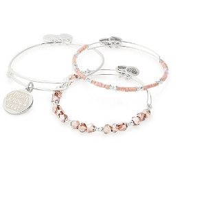 Color Infusion Mom Knows Best Set of 3 Shiny Silver