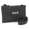 Black Cross Body Organizer by Ginger Snaps