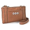 Cognac Cross Body Organizer by Ginger Snaps