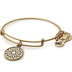 New Beginnings Charm Bangle  Rafaelian Gold