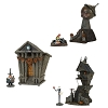 Nightmare Before Christmas Display 6 Piece Set