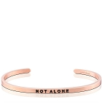 Not Alone Rose Gold