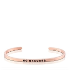 No Excuses Rose Gold