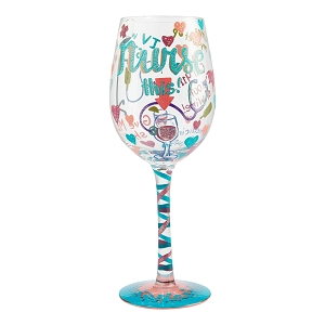 Nurse This Wine Glass  6006294