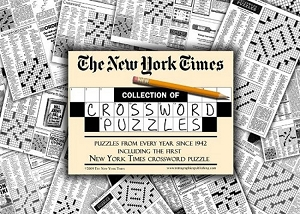 New York Times Crossword Puzzles Compilation Newspaper