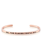 Oh The Places You'll Go Rose Gold
