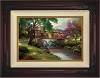 Thomas Kinkade Old Fishin Hole 24 x 36