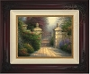 Thomas Kinkade Open Gate Canvas Framed