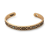 Path of Life Infinity Cuff Bangle Rafaelian Gold