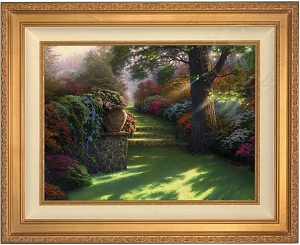 Thomas Kinkade Pathway to Paradise 25 1/2 x 34 Canvas