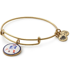 Pat Patriot Charm Bangle Gold