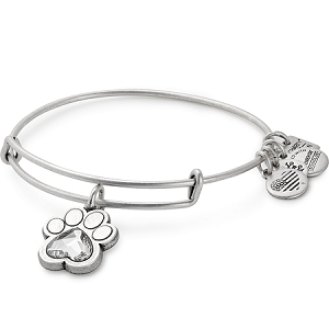 Prints of Love Charm Bangle Rafaelian Silver