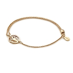Unexpected Miracles Pull Chain Bracelet 14kt Gold