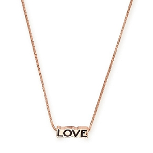 Love Adjustable Necklace Rose Gold