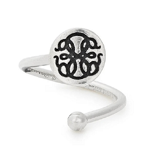 Path of Life Ring Wrap Sterling Silver