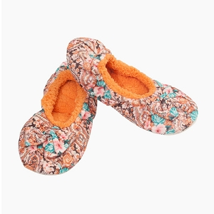 Peach Paisley Women's Large 9-10