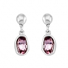 Uno De 50 On Tip Toes Earrings Pink