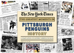 Pittsburgh Penguins History New York Times Newspaper Compilation
