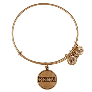 University Of Pennsylvania Logo Charm Bangle Rafaelian Gold
