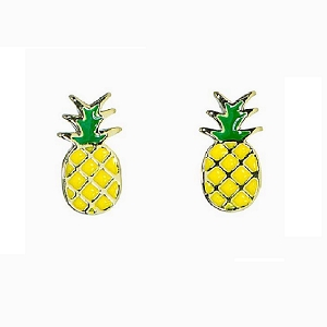 Pineapple Stud Earring Gold