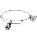 Pineapple Charm Bangle Rafaelian Silver
