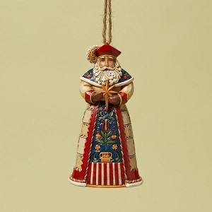 Polish Santa Ornament 4022945